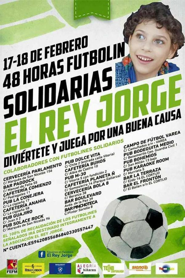 futbolín solidario 17 y 18 de febrero de 2018 La Rioja