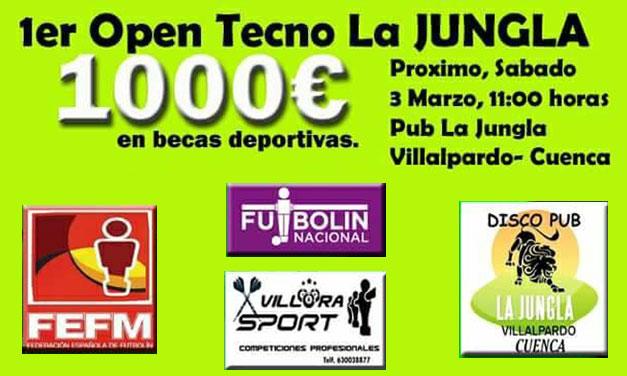 PRIMER OPEN LA JUNGLA (Villalpardo-Cuenca 03/03/2918)