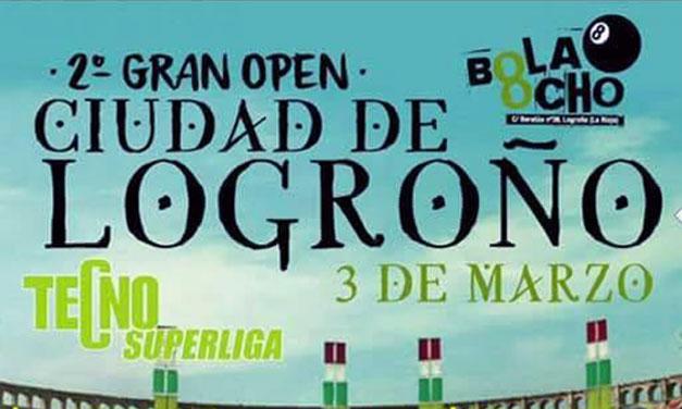 SEGUNDO OPEN CIUDAD DE LOGROÑO (La Rioja 03/03/2018)