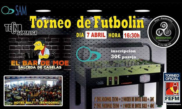 TORNEO DE FUTBOLÍN (07/04/18, Pontevedra)