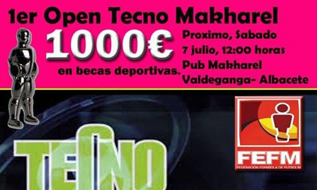 PRIMER OPEN TECNO MAKHAREL (07/07/18 Valdeganga)