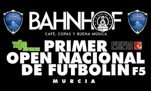 PRIMER OPEN NACIONAL DE FUTBOLÍN F5 (20/10/18 – MURCIA)