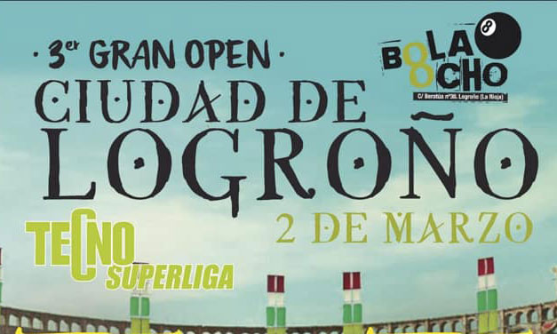 TERCER OPEN CIUDAD DE LOGROÑO 02/03/19 – LOGROÑO)