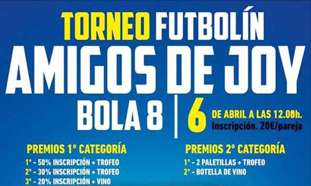 TORNEO AMIGOS DE JOY (06/04/19 – LOGROÑO)