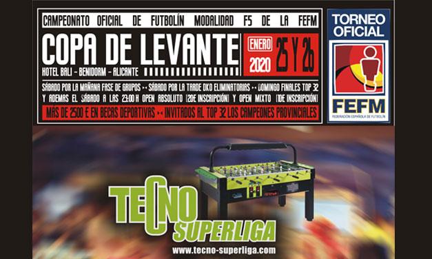 COPA DE LEVANTE 2020 (BENIDORM, 25-26/01/20)