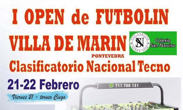 I OPEN DE FUTBOLÍN VILLA DE MARÍN (MARÍN, 21-22/02/20)