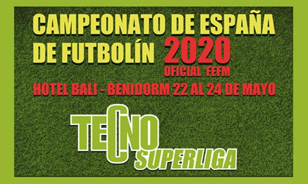 CAMPEONATO DE ESPAÑA 2020 (BENIDORM, 22-24/05/20)
