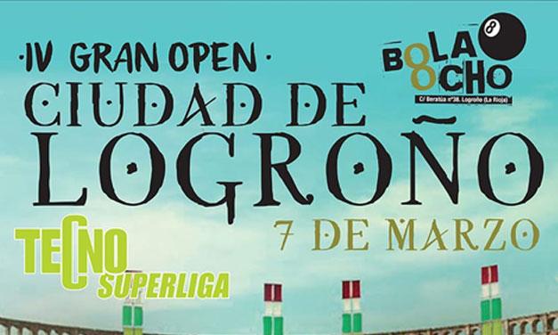 IV GRAN OPEN CIUDAD DE LOGROÑO (07/03/20, LOGROÑO)